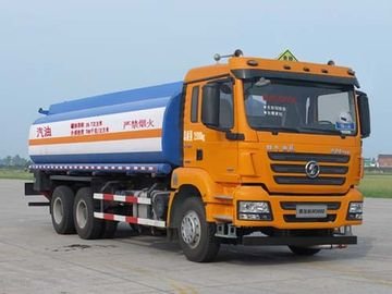 China 6×4 Drive Mode Used Oil Trucks , Used Truck Fuel Tanks 19.7 M3 Volume distributor