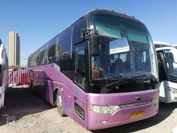 China 2010 Year 53 Seats Used Motor Coaches , Used Commercial Bus For Traveling factory