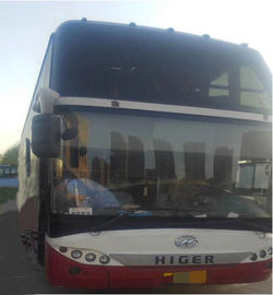 China Higer 51 Seats Used Tour Bus International Standard Emission Euro III distributor