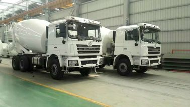 China SHACMAN Second Hand Concrete Mixer Trucks , Used Concrete Mixer 99 Km/H Max Speed distributor