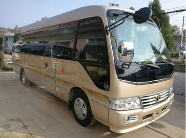 China 2014 Toyato Used Coaster Bus , 2x4 Second Hand Mini Bus With 13 Seats factory