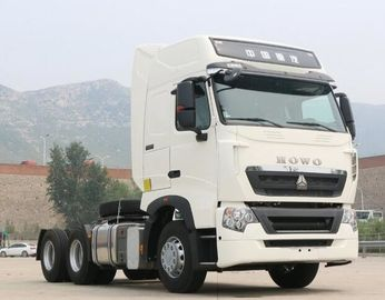 China HOWO T7H Used Heavy Duty Trucks 6x4 Drive With A / C , 397kW Engine Power distributor