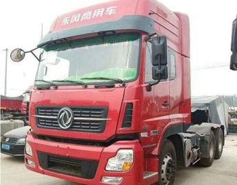 China Dongfeng Diesel Cummins Used Tractor Truck , Second Hand Truck 2013 Year distributor