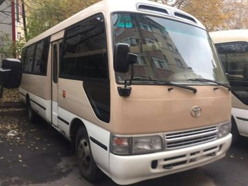 China TOYATO Used Coaster Bus Diesel 6 Cylinder Engine Made 2002 With Good Mileage factory