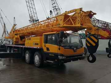 China Diesel Fuel Second Hand Truck Mobile Crane 50ton Lift Capacity 2013 Year distributor