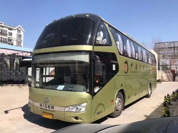 China Luxury Higer Two Door Used Tour Bus Diesel 25-71 Seats 2015 Year factory