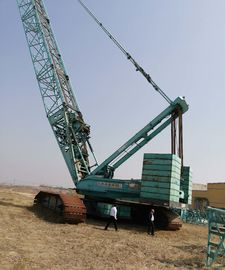 China Kobelco Green Construction Machines 550 Ton Used Crawler Crane 2008 Year distributor
