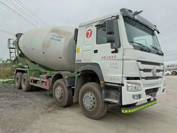 China Howo Brand Used Cement Truck 20 Cubic Lhd 8x4 Diesel 2018 Year distributor