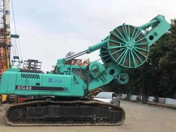 China SG40 Second Hand Trencher JINT Brand 2015 Year Green Color ISO Certification factory