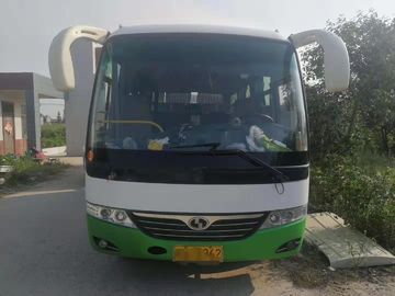 China Model 6602 Used Mini Bus 2016 Year 19 Seat Front Engine Diesel Six Meter Length factory