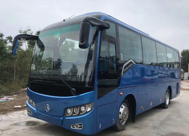 China Golden Dragon Brand Euro III Used Travel Bus 2014 Year 33 Seats 3150mm Bus Height factory