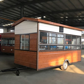 China Rust Resistant Protective Coating Hot Dog Concession Trailer CE Certification factory