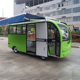 China Metal Mobile Vending Cart / Mobile Bakery Cart Rust Resistant High Security distributor