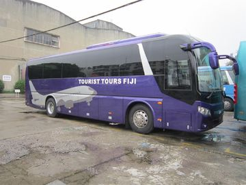 China 12m Length Promotion Bus Daewoo Bus With 51Seats Double Back Axle Right Hand Drive distributor