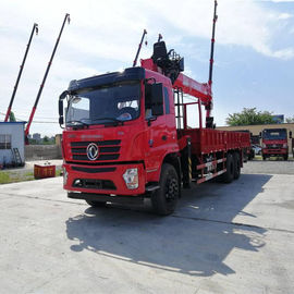 China 2014 Years Used Construction Machines Boom Truck Mounted Crane 8.5m Carriage Length factory