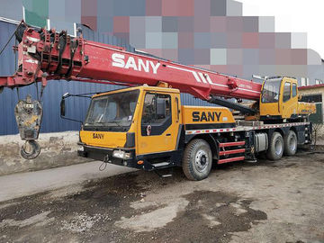 China Sany 2012 Year Used Construction Machine Crane Truck 25 Ton Stable Chassis Performance factory