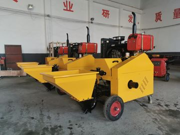 China Diesel Plunger Mortar Spraying Machine 12mpa Convey Pressure 28HP 12MPa Convey Pressure factory