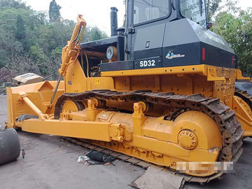 China 2012 Years Used Construction Machines SD32 Crawler Bulldozer Yellow Color factory