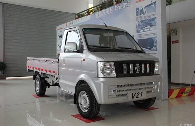 Dongfeng RHD Mini Truck , Used Mini Vans V21 Diesel Model