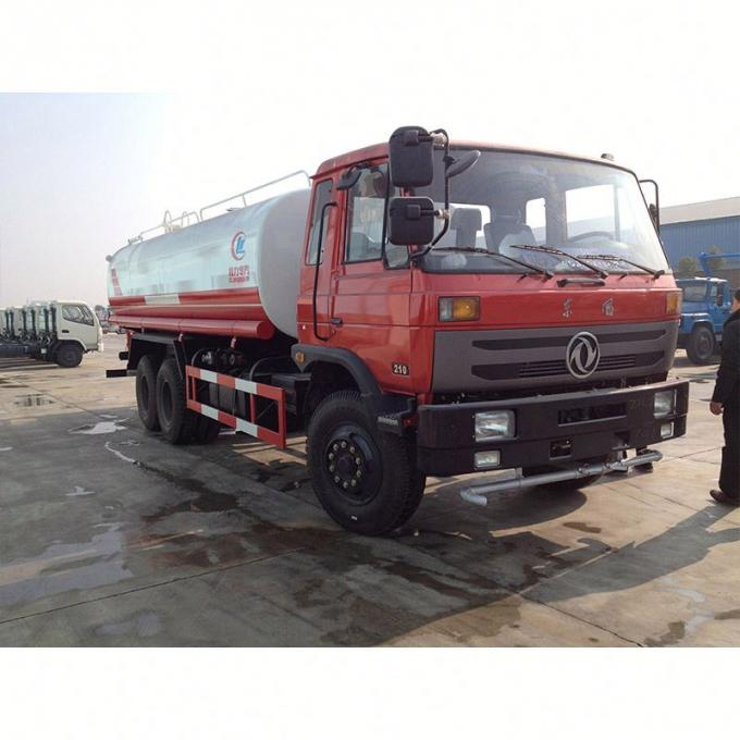 9760×2500×2990mm Used Water Tank Truck , Second Hand Water Trucks 18 Cubic Meter