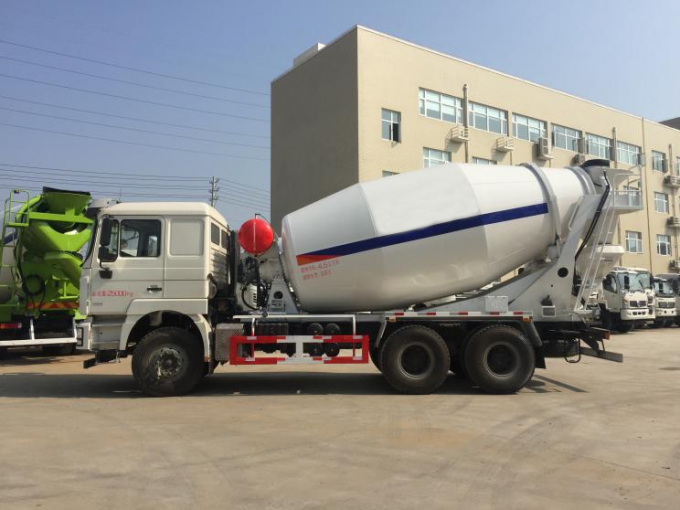 8m3 Loading Capacity Used Concrete Mixer Truck With Intelligent Wechai Engine