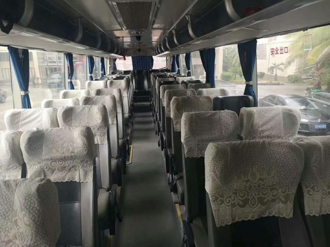 2013 Year 53 Seats Used YUTONG Buses Diesel Fuel Type With Airbag LNG Gasoline
