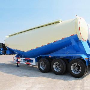 3 Axle Used Cargo Trailers V Tanker Shape With 40m3 Tanker Capacity