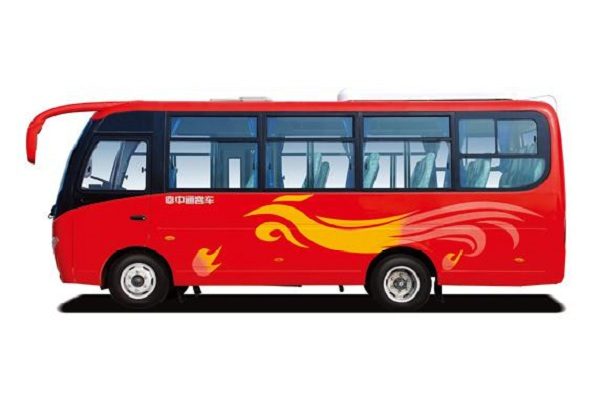 ZHONGTONG Brand Used Coach Bus 2011 Year 24 Seats Yuchai Engine Max Power 80kw
