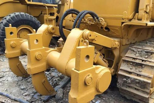 5-6 Ton Used Caterpillar Truck , Caterpillar Used Machinery With 3306 Engine