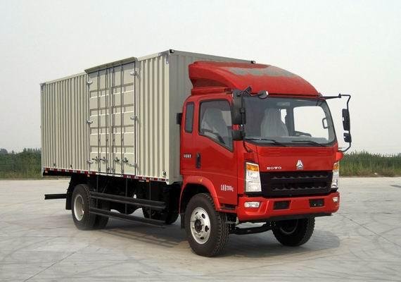 2013 Year Used HOWO Trucks , 2nd Hand Truck 4×2 Drive Mode For Constructions