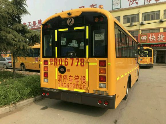 LHD Diesel Models Second Hand School Van , Used Small School Buses With 37 Seats