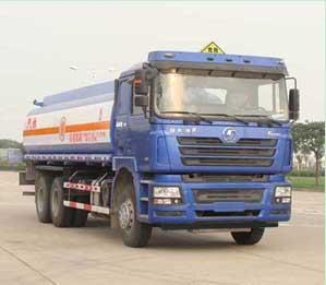 6×4 Drive Mode Used Oil Tanker 18 M3 Volume With Air Conditioner 78 Km/H Max Speed