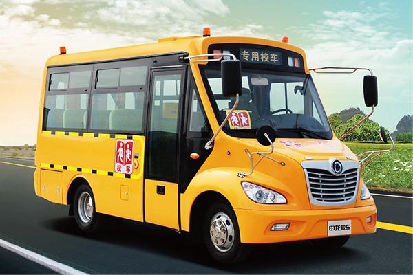 22 Seats Used School Bus 2014 Year Shenlong Brand With Excellent Diesel Engine