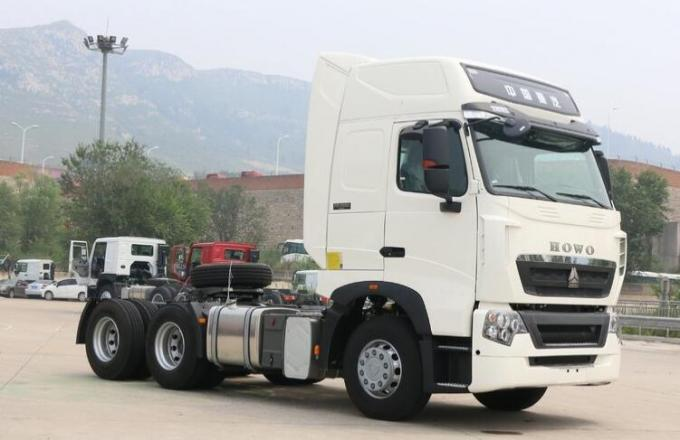 HOWO T7H Used Heavy Duty Trucks 6x4 Drive With A / C , 397kW Engine Power