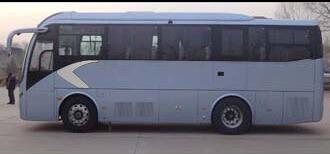 2013 Golden Dragon 38 Seats Diesel Used Coach Bus With 100km / H Good Condition