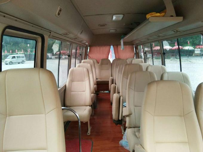 2010 Used Toyota Coaster Bus 23 Seats / Used Diesel Buses Automatic Door