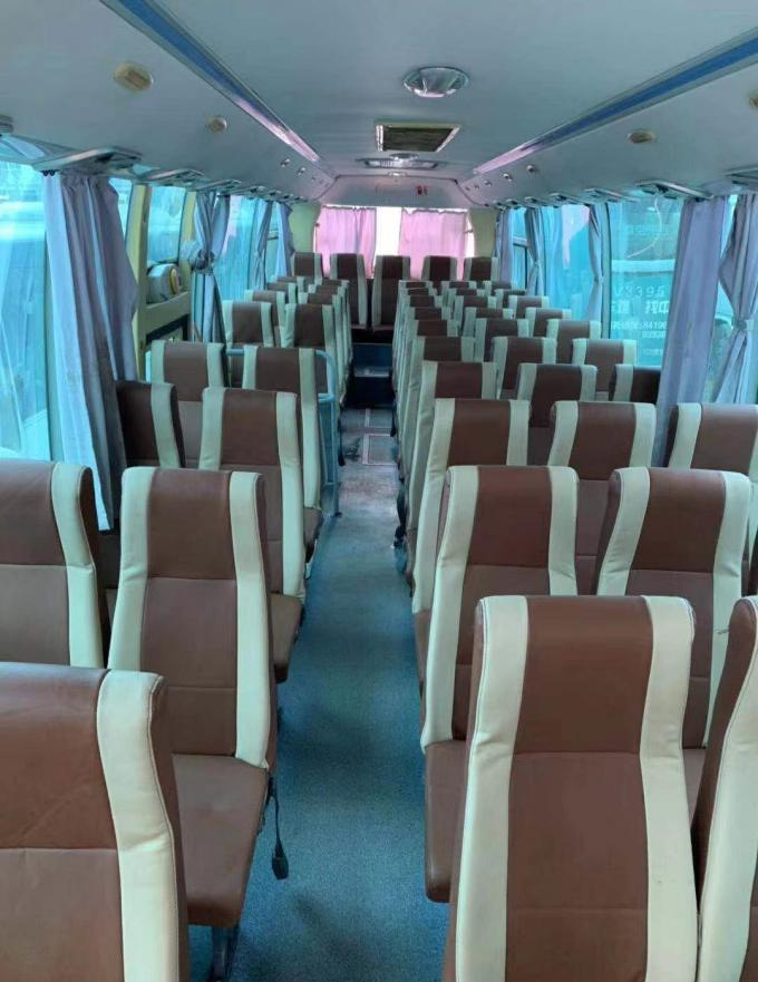 2013 Year Diesel Used Yutong Buses 58 Seats Zk 6110 White Color
