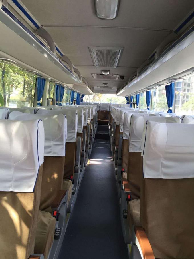 ZK6119H2Y 51 Seat Used Passenger Bus Diesel Motor Left