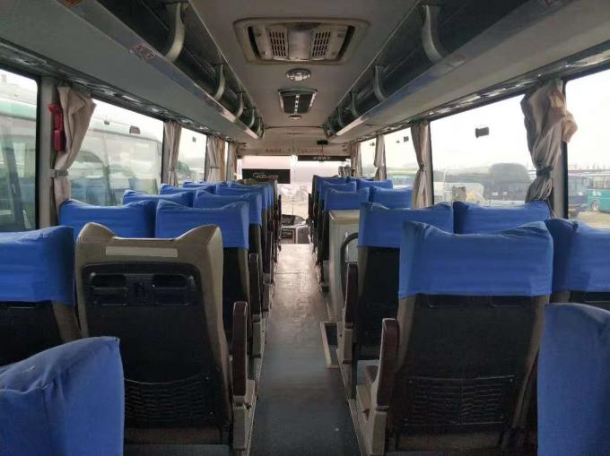 ZK6120 47 Seats 2010 Year Used Yutong Buses 12m Length Diesel Euro III Engine