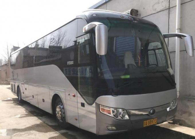 LHD / RHD Luxury Used Yutong Buses 2008 Year 53 Seats With Air Bag