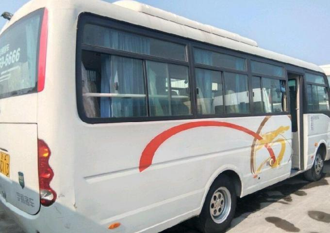 Euro IV Diesel Engine Used Yutong Buses 26 Seats LHD / RHD 2013 Year