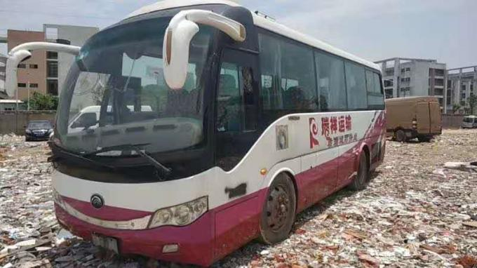 8m Length Yutong 6809 Models Used Coach Bus 2011 Year 33 Seats Heavy Duty