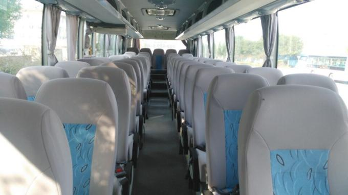 ZK6122HB9 53 Seater Used Diesel Bus 100km/H Max Speed With AC Video