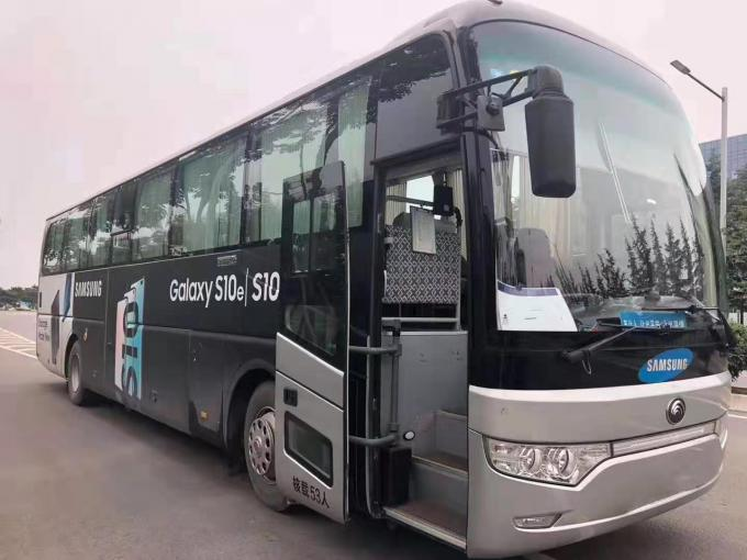 Diesel Used Yutong Buses 6122 Type 53 Seats 2014 Year YC Engine Left Drive