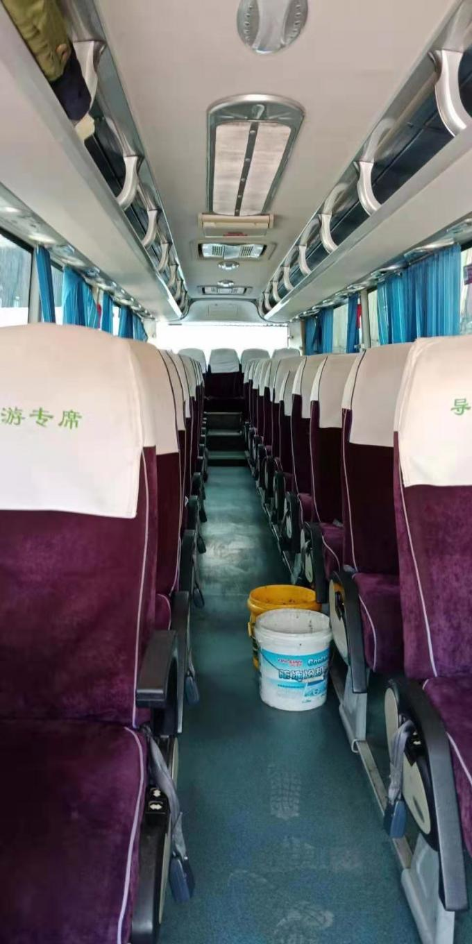Zk6107 Model Used Yutong Buses 55 Seats 2011 Year Bus With Big Luggage