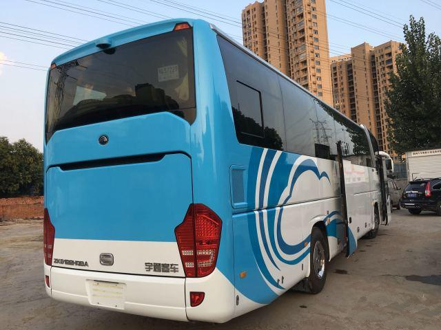 6122 LHD Used Yutong Buses 2015 Year 50 Seats Diesel Engine 125km/H Max Speed