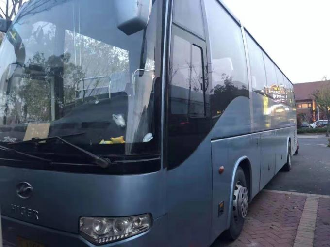 12m Length 55 Seats Higer Used Coach Bus 2009 Year 100km/H Max Speed