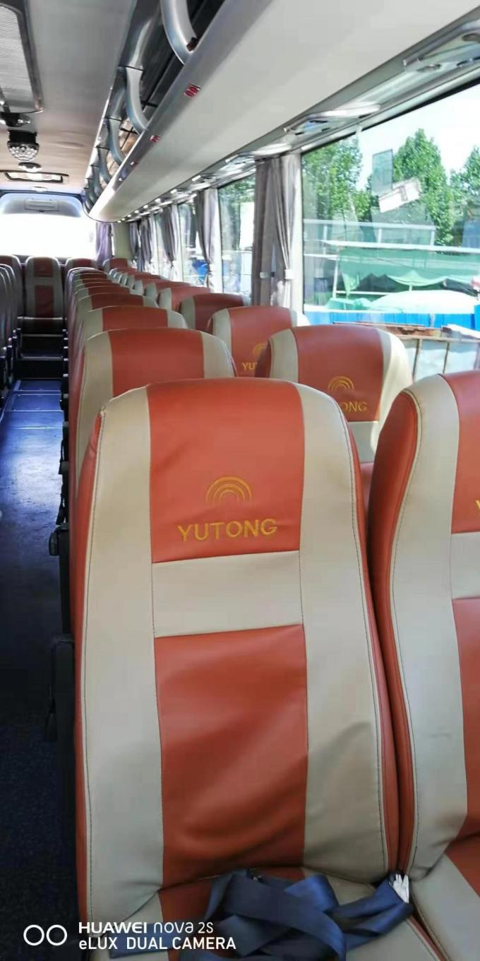 6127 Model Used Coach Bus Yutong 55 Seats Good Condition With Diesel Fuel