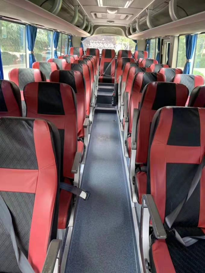 35 Seats Yutong Used Diesel Bus 2014 Year With 65000km Mileage 2450mm Bus Width