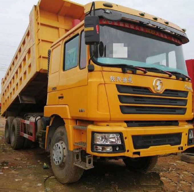 Shacman F3000 Used Dump Truck 2018 Year 6x4 Tipper Truck 40 Ton Manual Transmission